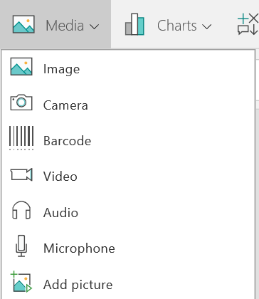 Canvas App Media Control